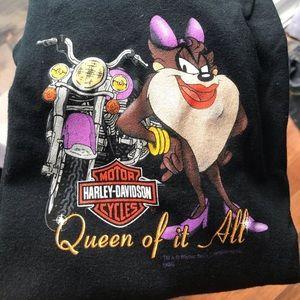 Harley-Davidson T-shirt Tasmanian Devil Mrs.